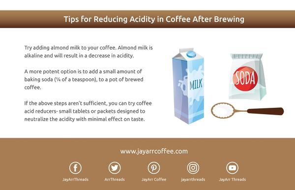 Tips for Reducing Acidity After Brewing